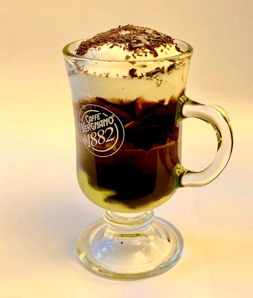 Kawa marocchino o smaku pistacjowym