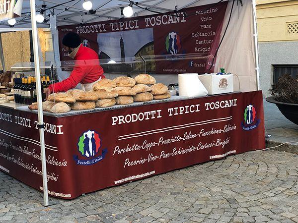 Sprzedaż pieczywa toskańskiego