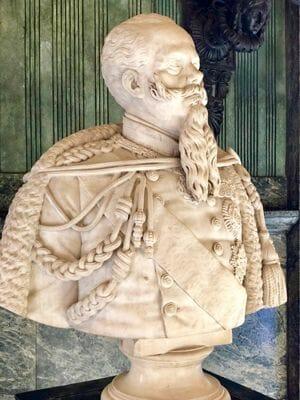 Vittorio Emanuele II pierwszy król Włoch pochodził z Turynu