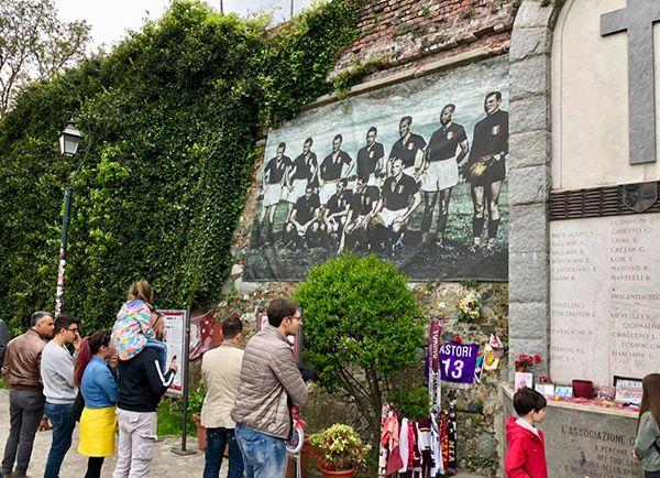 Wzgórze Superga, miejsce upamiętniające tragedię Grande Torino
