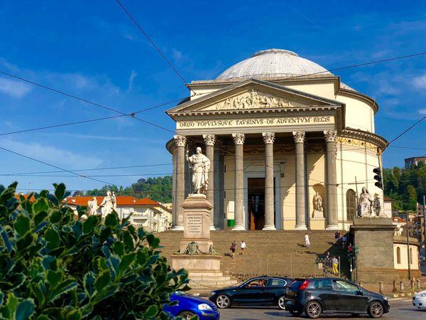 Kościół Gran Madre w Turynie
