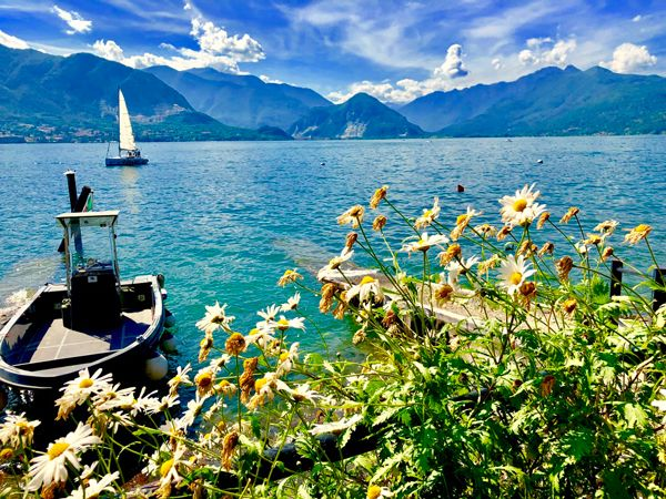 Jezioro Lago Maggiore Piemontu Włochy