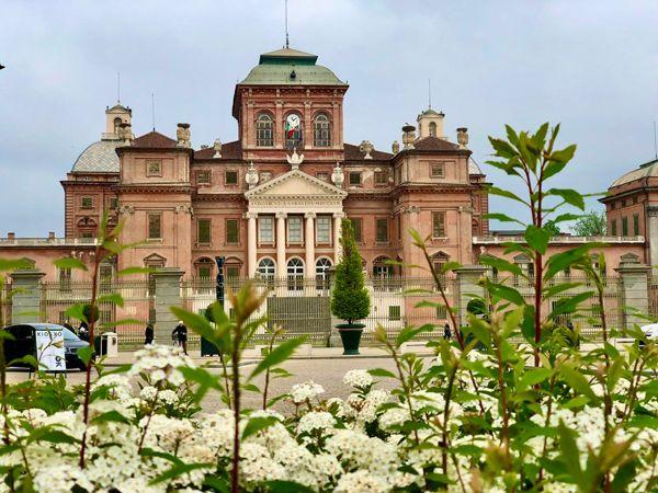 Rezydencja Sabauda w Racconigi Piemonte Włochy