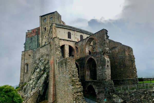 Sacra San Michele w Piemoncie opactwo św. Archanioła Michała
