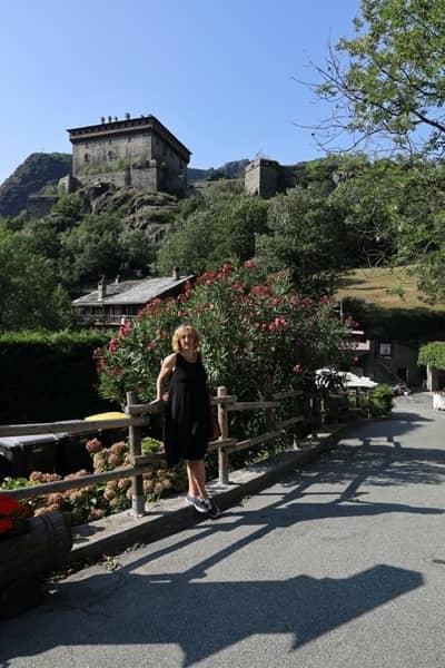 Wizyta na zamku w Verrès